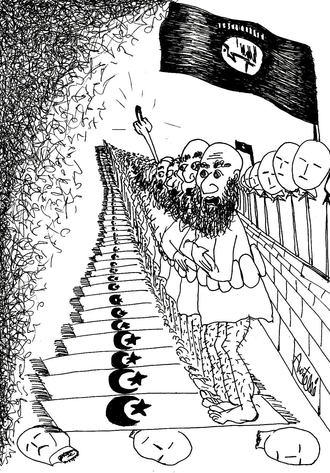 کاریکاتور هفتانه زاگرس  پست (3)